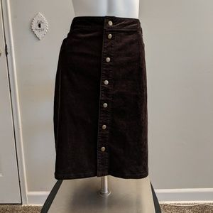 Woolrich Black Skirt new with tags size 16